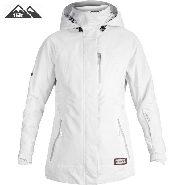 Dakine Womens Skye Jacket Damen Ski- / Snowboard Jacke White
