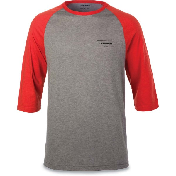 Dakine Walker 3/4 Baseball Tee Herren T-Shirt Indie Red