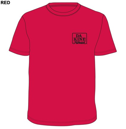 Dakine Classic T-Shirt Red Größe S