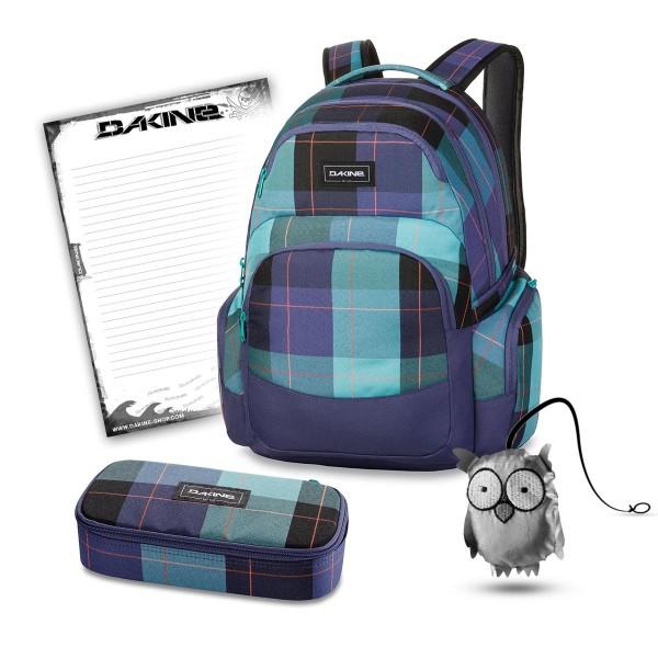 Dakine Otis 30L + School Case XL + Emma + Block Schulset Aquamarine