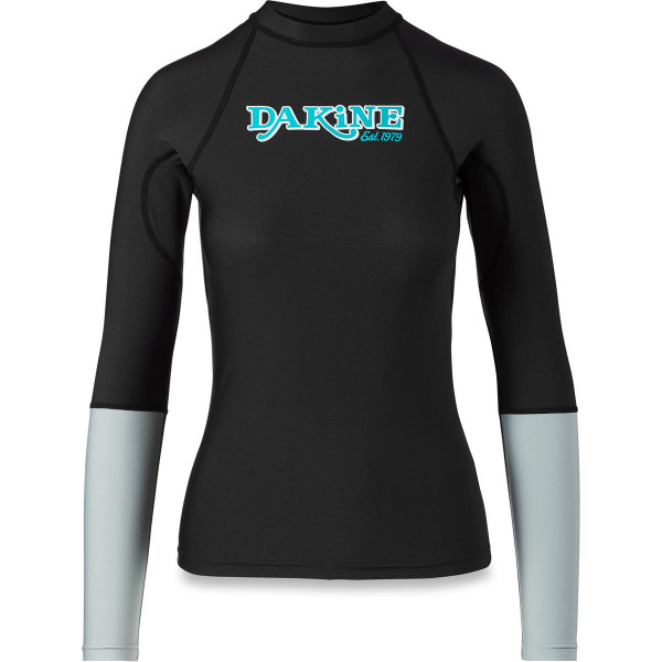 Dakine Womens Flow Snug Fit L/S Damen Lycra Black