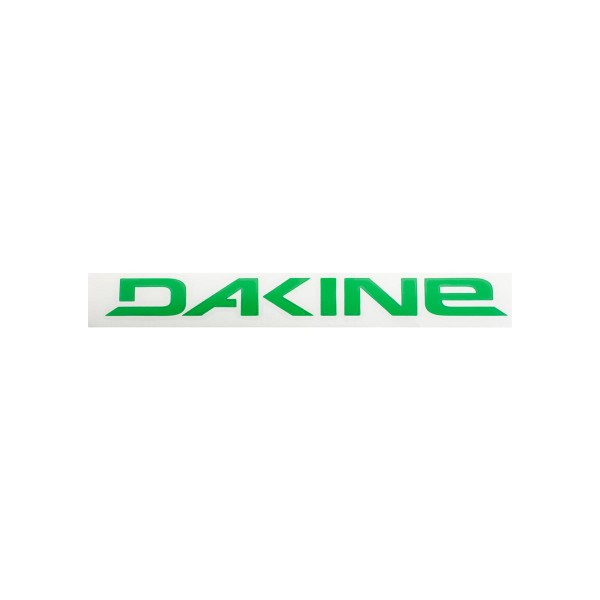 Dakine Rail Logo 8'' Plotted Aufkleber Green (20 x 3 cm)
