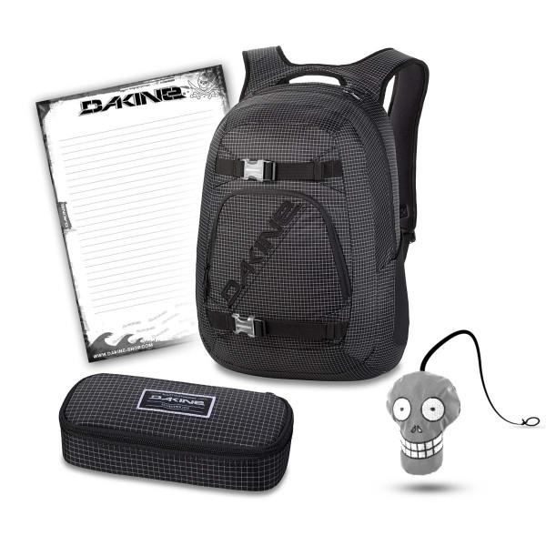 Dakine Explorer 26L + School Case XL + Harry + Block Schulset Rincon
