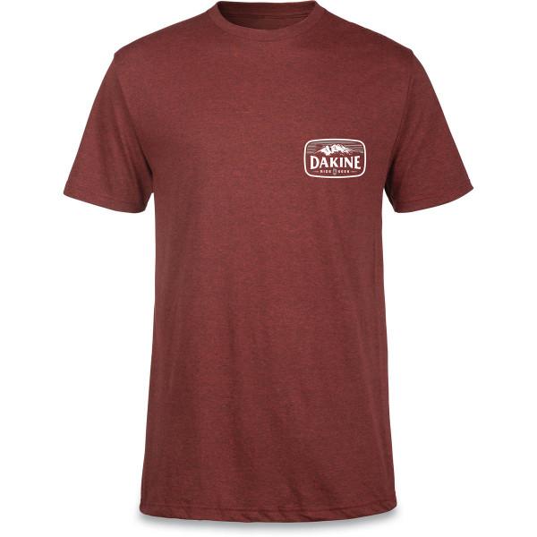 Dakine Ride & Seek Herren T-Shirt Brick Blk Heather