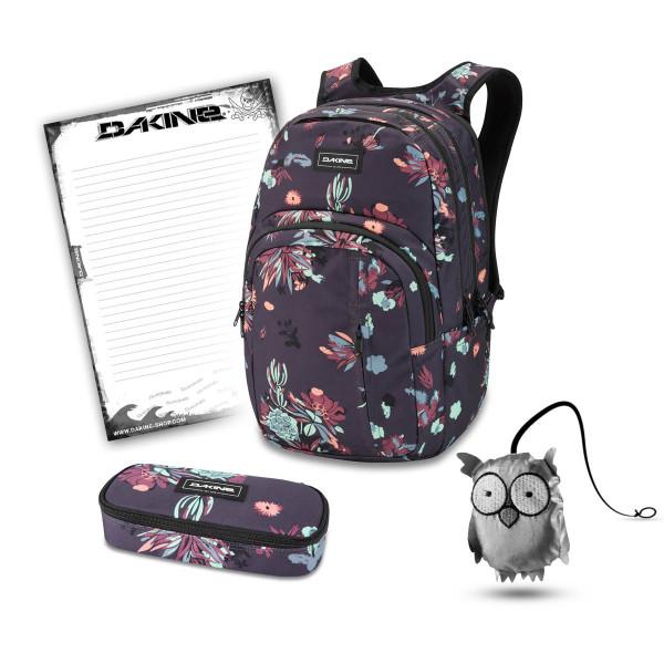 Dakine Campus Premium 28L + School Case + Emma + Block Schulset Perennial