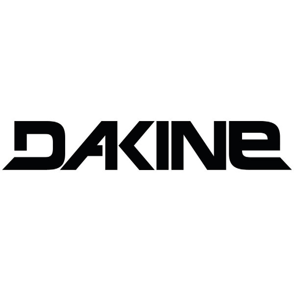 Dakine Rail Logo 36'' Sticker Aufkleber Black (91 x 9 cm)