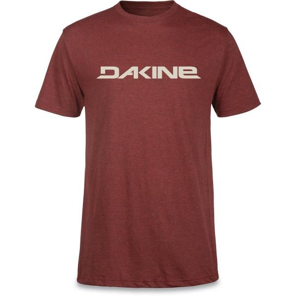 Dakine Da Rail T-Shirt Herren T-Shirt Brick Blk Heather