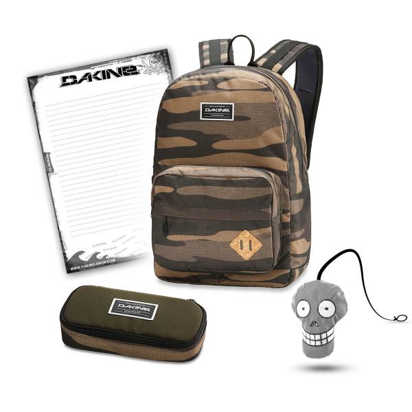 Dakine 365 Pack 30L + School Case + Harry Block Schulset Field Camo