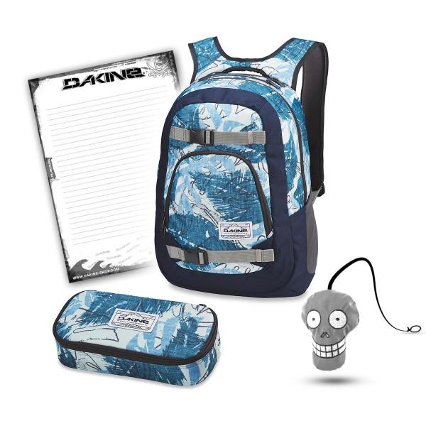 Dakine Explorer 26L + School Case XL + Harry + Block Schulset Washed Palm