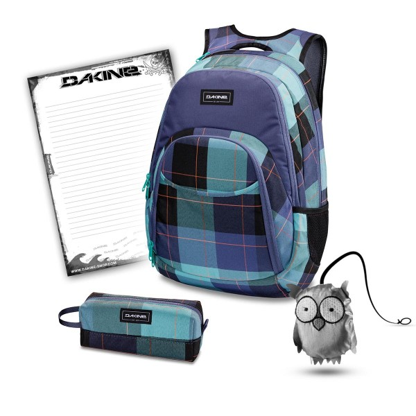 Dakine Eve 28L + Accessory Case + Emma + Block Schulset Aquamarine