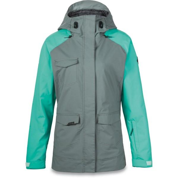 Dakine Canyons II Jacket Damen Ski- / Snowboard Jacke Balsam Green / Lagoon