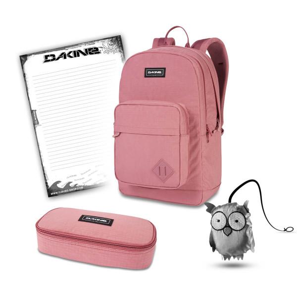 Dakine 365 Pack DLX 27L + School Case XL + Emma + Block Schulset Faded Grape