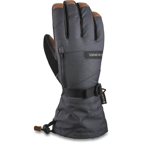 Dakine Leather Titan Gore-Tex Glove Ski- / Snowboard Handschuhe Carbon