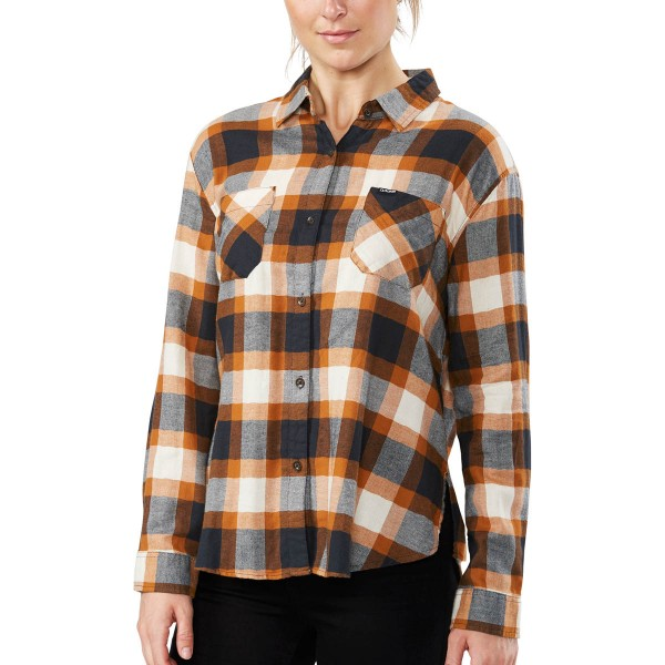 Dakine Ellis Lightweight Flannel Damen Hemd Ginger