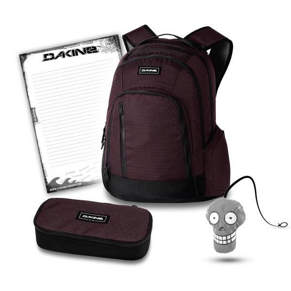 Dakine 101 29L + School Case XL + Harry + Block Schulset Taapuna