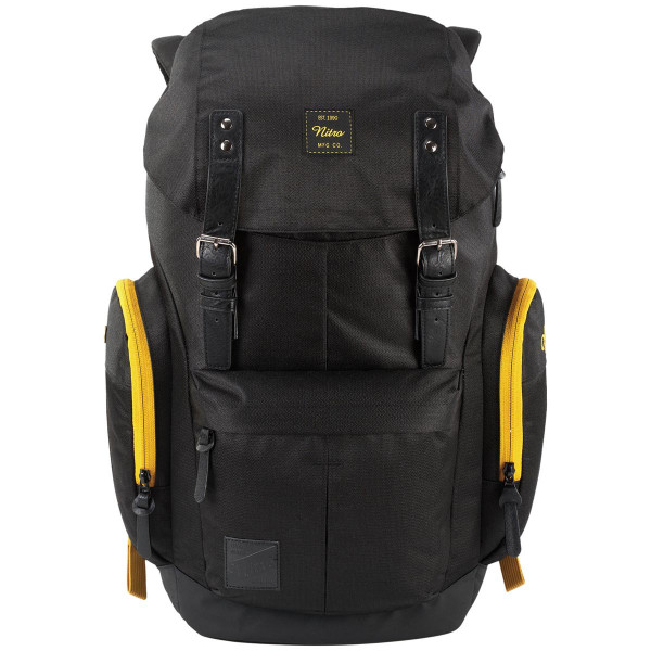 Nitro Daypacker 32L Rucksack mit Laptopfach Golden Black