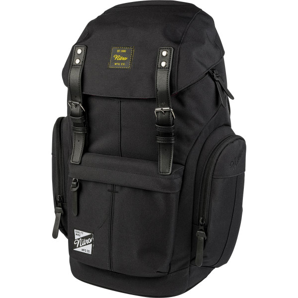 Nitro Daypacker 32L Rucksack mit Laptopfach True Black