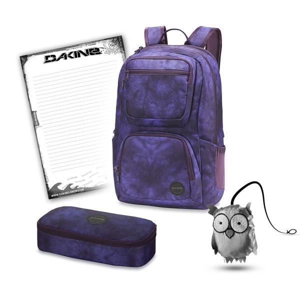 Dakine Jewel 26L + School Case XL + Emma + Block Schulset Purple Haze