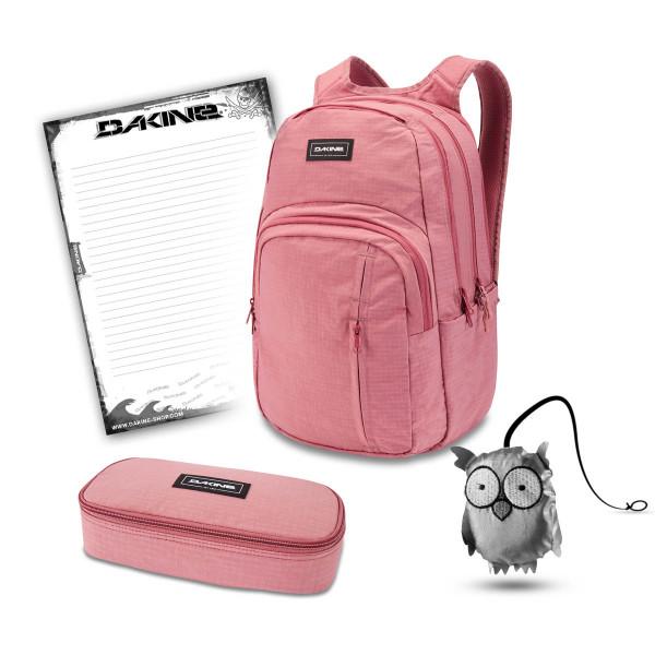 Dakine Campus Premium 28L + School Case XL + Emma + Block Schulset Faded Grape