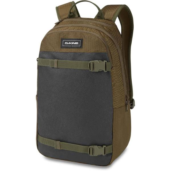 Dakine URBN Mission Pack 22L Rucksack mit iPad/Laptop Fach Dark Olive Dobby