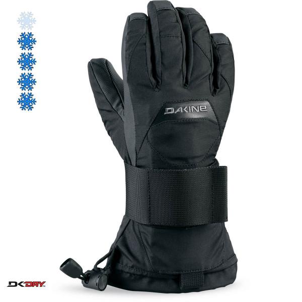 Dakine Wristguard Jr Glove Kinder Handschuhe mit Handgelenkschutz Black
