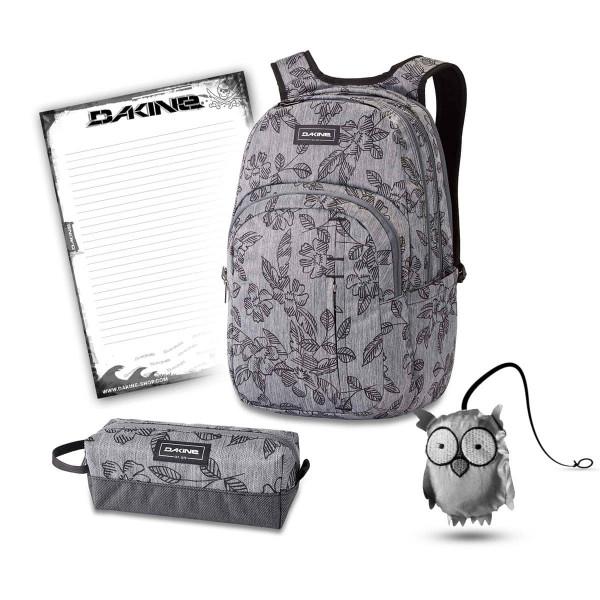 Dakine Campus Premium 28L + Accessory Case + Emma + Block Schulset Azalea