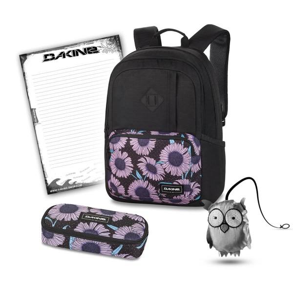Dakine Alexa 24L + School Case + Emma + Block Schulset Nightflower