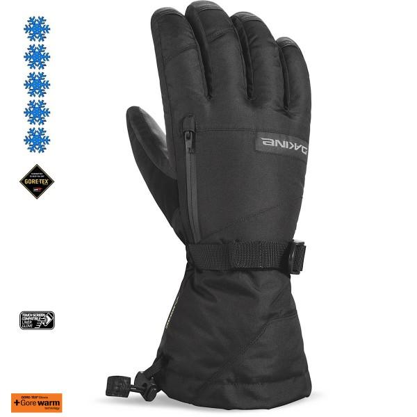 Dakine Leather Titan Gore-Tex Glove Ski- / Snowboard Handschuhe mit Innenhandschuh Black