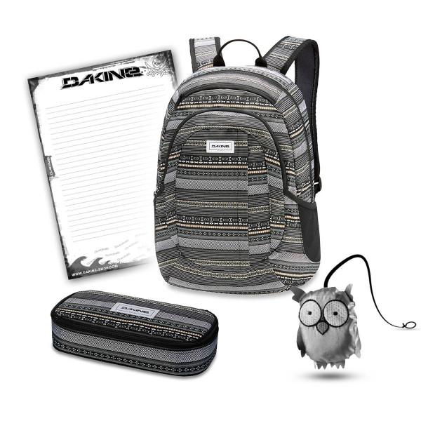 Dakine Garden 20L + School Case XL + Emma + Block Schulset Zion