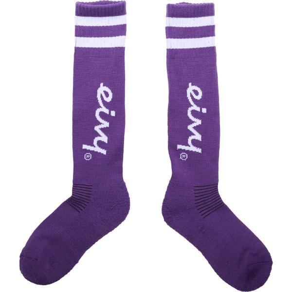 Eivy-Cheerleader-Underknee-Wool-Socks-Grape