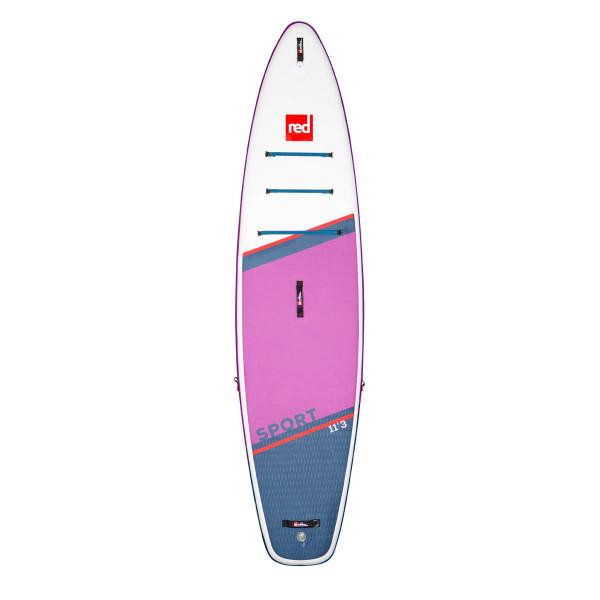 RED Paddle SUP Board SPORT SE 11'3'' x 32'' x 4,7'' MSL mit TITAN 2 Pumpe