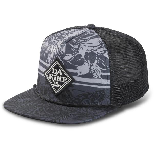 Dakine Classic Diamond Trucker Cap Black Trop