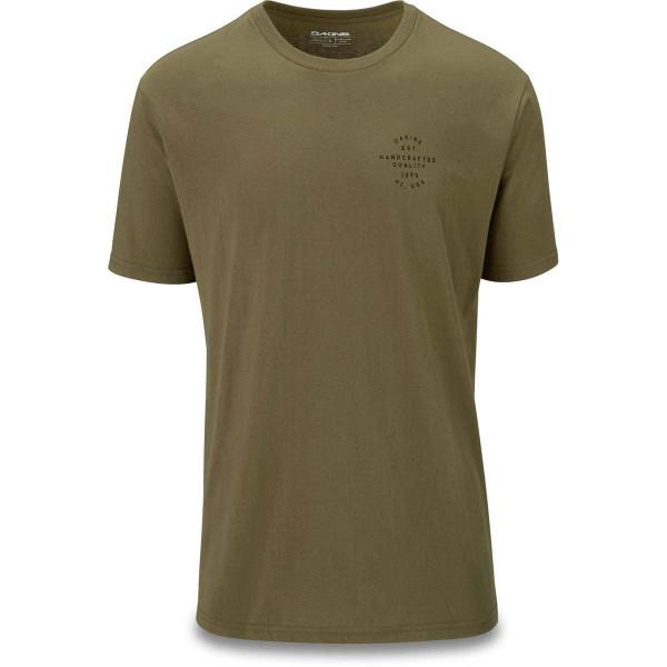 Dakine Standard Issue Herren T-Shirt Dark Olive