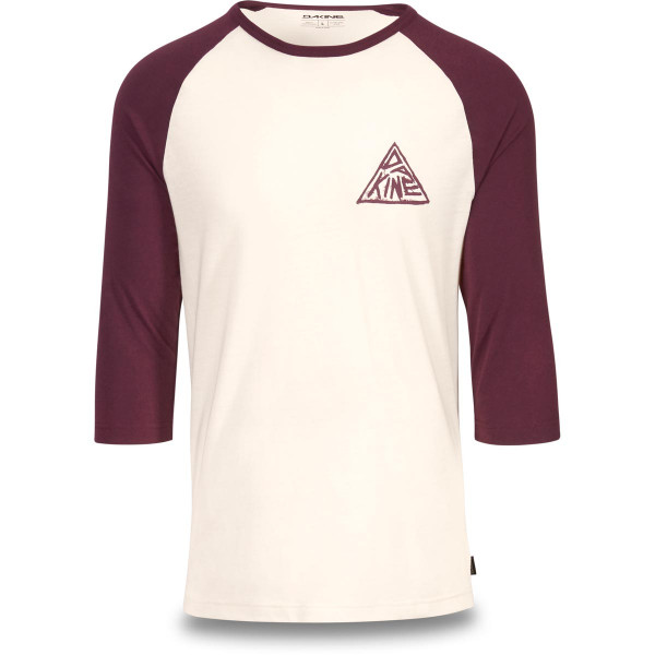 Dakine Walker 3/4 Baseball Tee Herren T-Shirt Plum Shadow