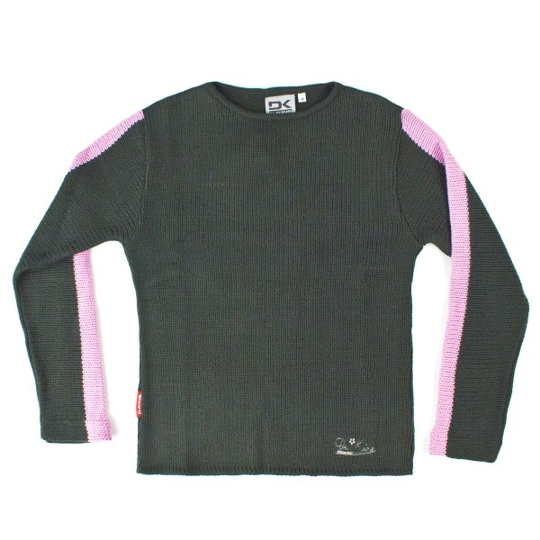 Dakine Womens Armflakes Sweatshirt / Pullover Green/ Pink