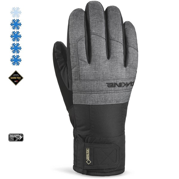 Dakine Bronco Glove Ski- / Snowboard Handschuhe Carbon