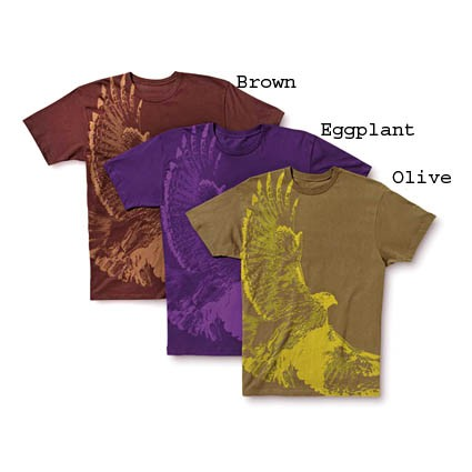 Dakine Hawk T-Shirt Brown - Größe S
