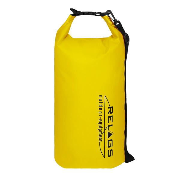 BasicNature Wasserdichter Packsack '500D' 10 L gelb