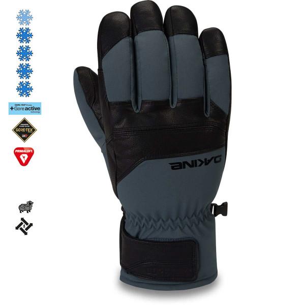 Dakine Excursion Gore-Tex Short Glove Herren Ski- / Snowboard Handschuhe Black / Dark Slate