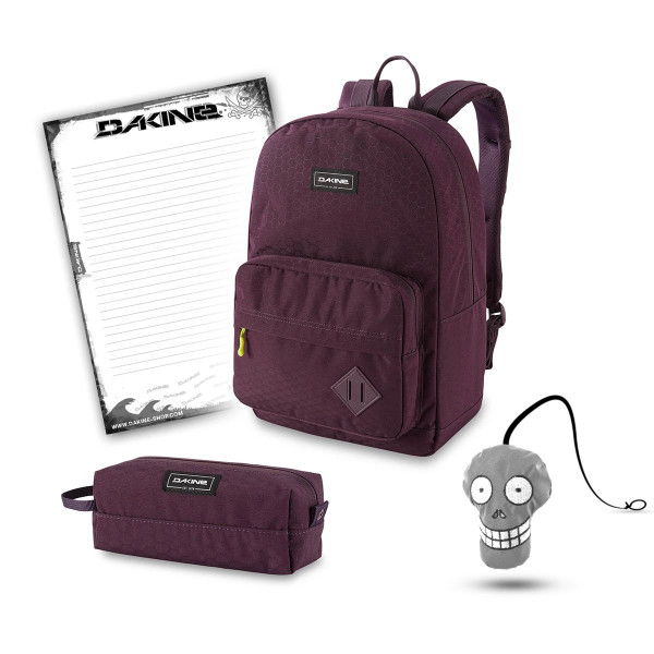 Dakine 365 Pack 30L + Accessory Case + Harry + Block Schulset Mudded Mauve