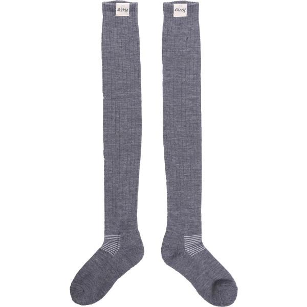 Eivy-Rib-Overknee-Wool-Socks-Grey-Melange