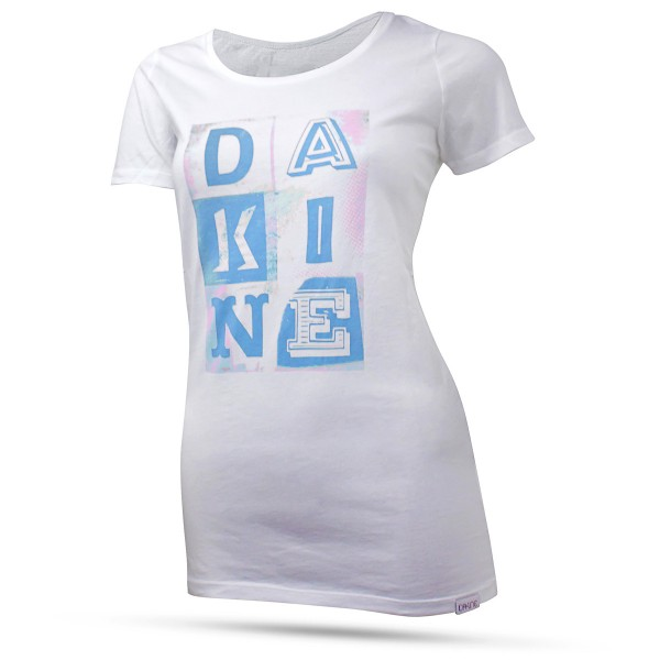Dakine Womens Letter Icons T-Shirt Blue