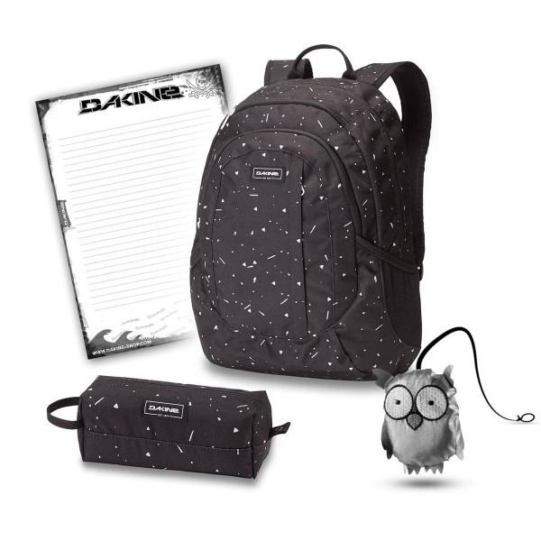 Dakine Garden 20L + Accessory Case + Emma + Block Schulset Thunderdot