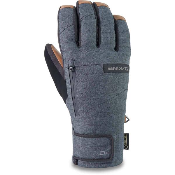 Dakine Leather Titan Gore-Tex  Short Glove Herren Ski- / Snowboard Handschuhe Carbon