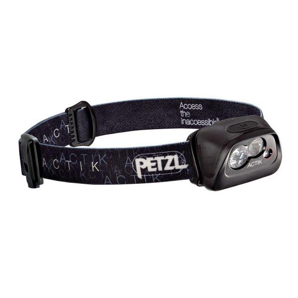Petzl Actik Active Stirnlampe Schwarz