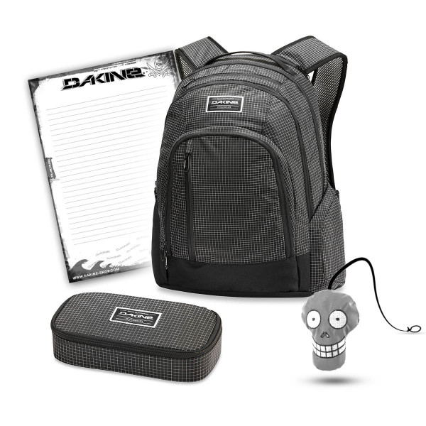 Dakine 101 29L + School Case XL + Harry Block Schulset Rincon