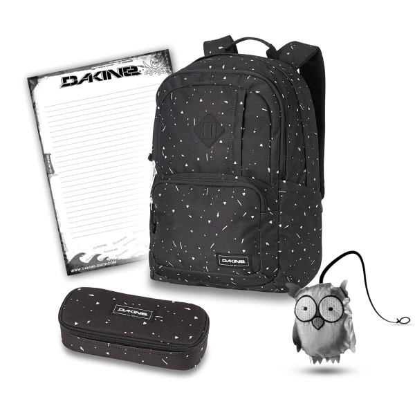 Dakine Alexa 24L + School Case + Emma + Block Schulset Thunderdot