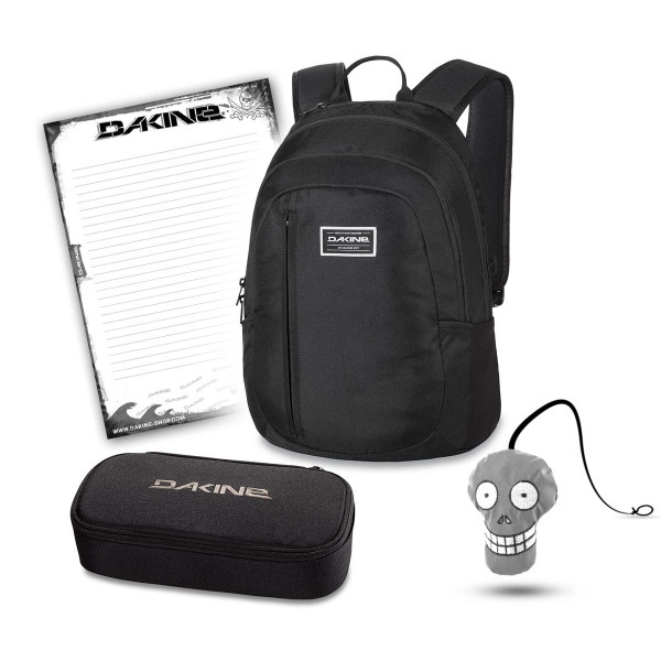 Dakine Factor 22L + School Case XL + Harry + Block Schulset Black