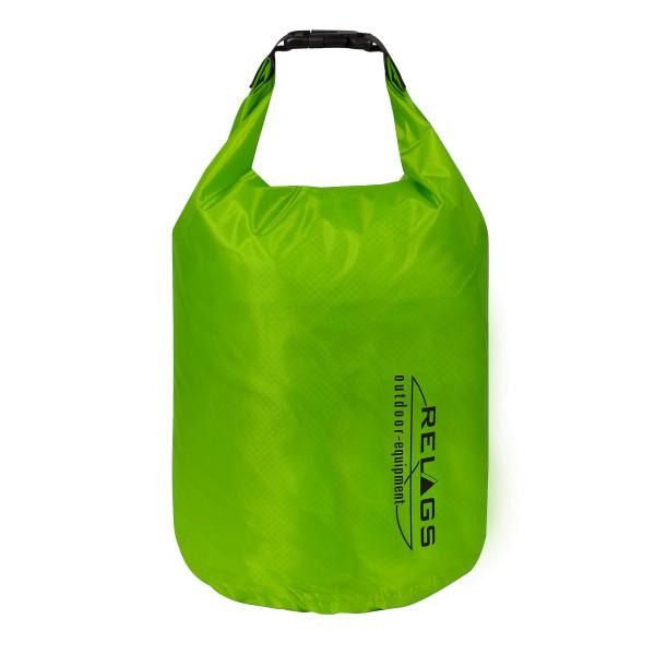 BasicNature Wasserdichter Packsack '210T' 2 L Hellgrün