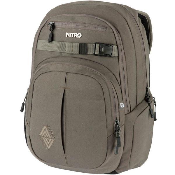 Nitro Chase 35L Rucksack mit Laptopfach Waxed Lizard
